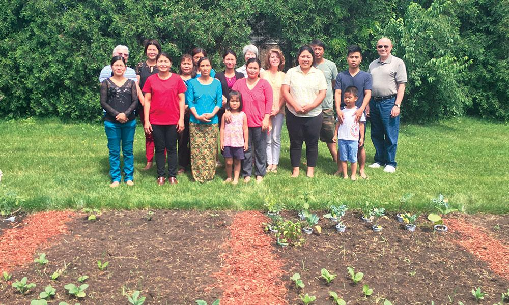 The Project Martha Community Garden Grows Community and Burmese Food